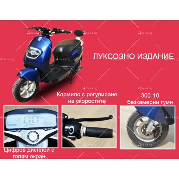Унисекс електрически скутер 72V20A и мощност 1000W - MOTOR6 15