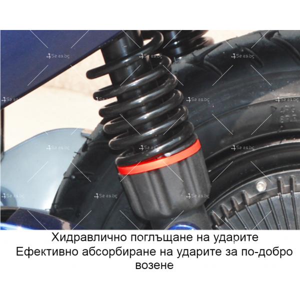 Унисекс електрически скутер 72V20A и мощност 1000W - MOTOR6 21