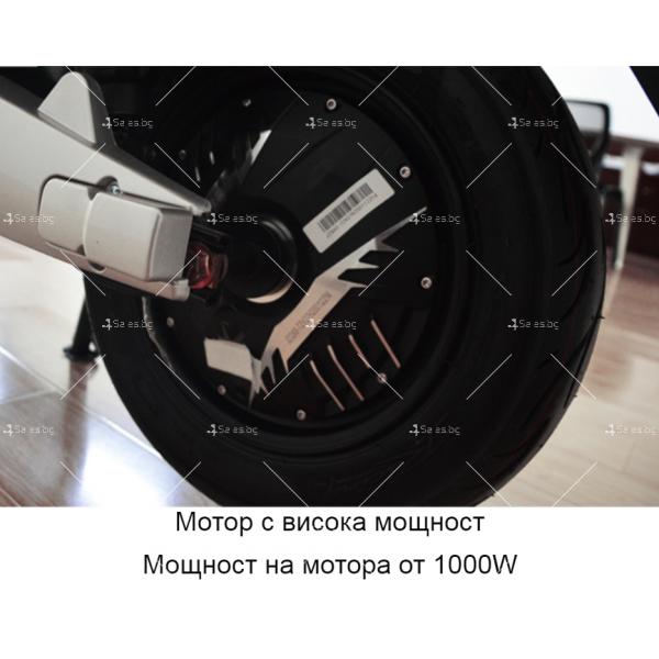 Унисекс електрически скутер 72V20A и мощност 1000W - MOTOR6 22