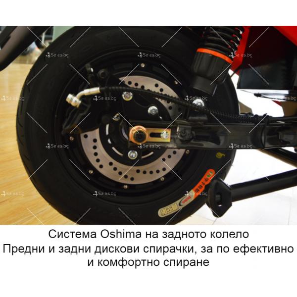 Унисекс електрически скутер 72V20A и мощност 1000W - MOTOR6 23