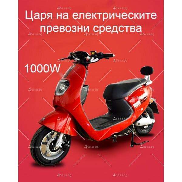 Унисекс електрически скутер 72V20A и мощност 1000W - MOTOR6 24