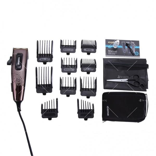 Машинка за подстригване Gemei Gm-837 с титаниево покритие SHAV13 2