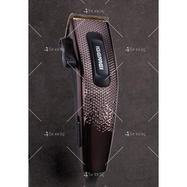 Машинка за подстригване Gemei Gm-837 с титаниево покритие SHAV13 8