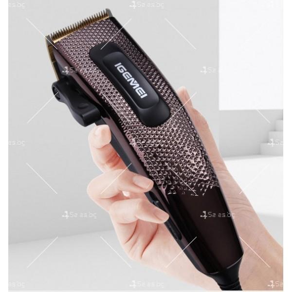 Машинка за подстригване Gemei Gm-837 с титаниево покритие SHAV13 10