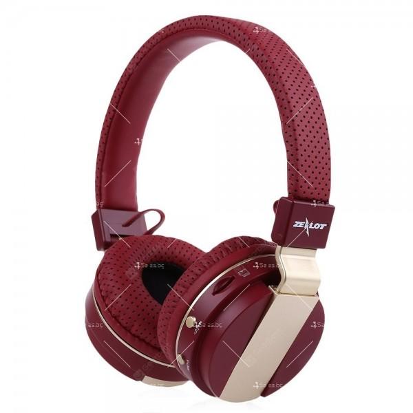 Безжични Bluetooth 4.0 слушалки с микрофон Zealot B47