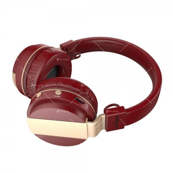 Безжични Bluetooth 4.0 слушалки с микрофон Zealot B47 2
