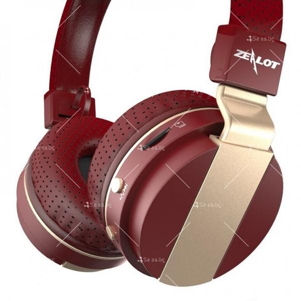 Безжични Bluetooth 4.0 слушалки с микрофон Zealot B47 3