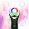 Масажор с електро мускулна стимулация и цветна светлина TV623 8