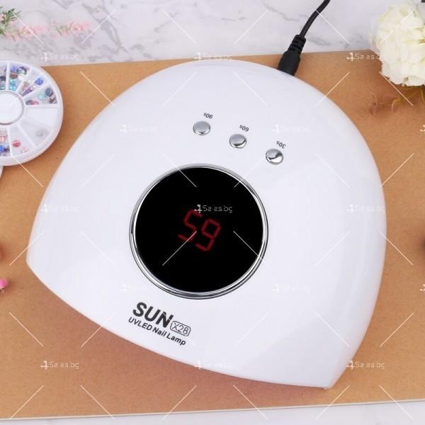 Професионална ултравиолетова лампа за маникюр SUN МК3 5
