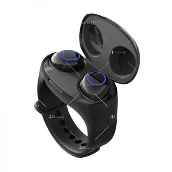 Интелигентни водоустойчиви Bluetooth 5.0 Слушалки с кутия за захранване EP17