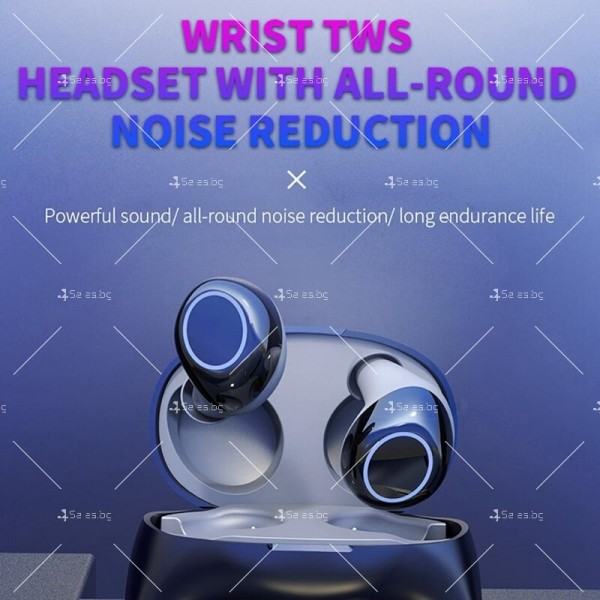 Интелигентни водоустойчиви Bluetooth 5.0 Слушалки с кутия за захранване EP17 7