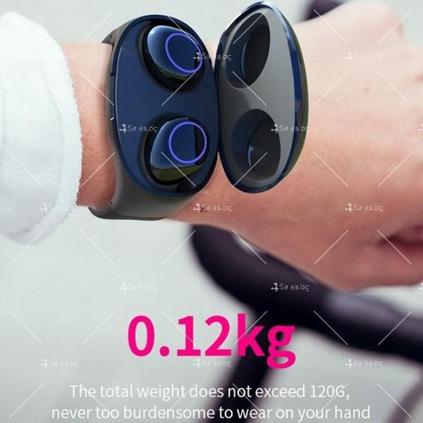 Интелигентни водоустойчиви Bluetooth 5.0 Слушалки с кутия за захранване EP17 9