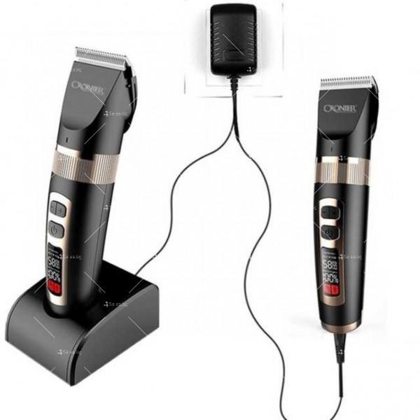 Електрическа машинка CRONIER CR-R4 за подстригване с LCD дисплей SHAV22 2