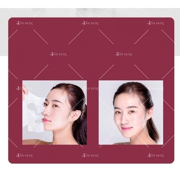 Масажор за лифтинг на лицето, подмладяване, почистване, йонна терапия TV629 6