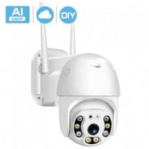 Водоустойчива, безжична камера с нощно видеонаблюдение и запис на карта IP32