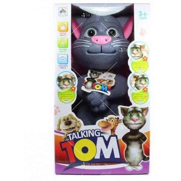 Talking Tom Интерактивен говорящ котарак Най-нов модел TV174 5