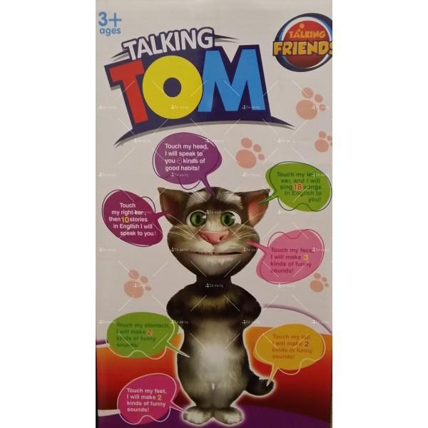 Talking Tom Интерактивен говорящ котарак Най-нов модел TV174 6