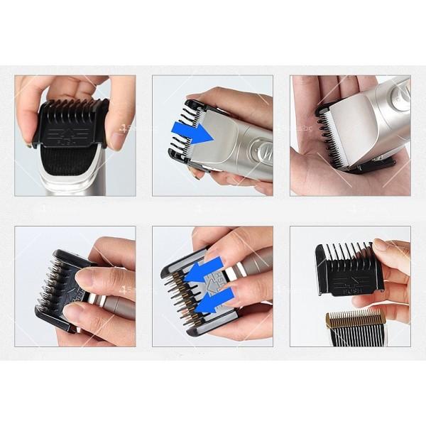 Електрическа машинка и тример за подстригване на домашни любимци SHAV12 8