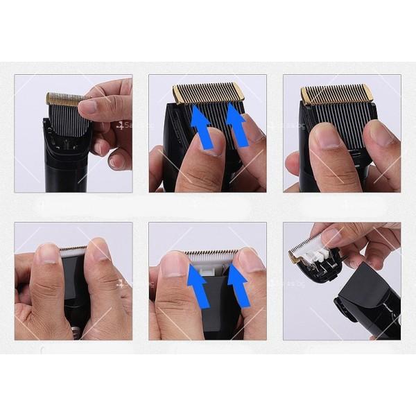 Електрическа машинка и тример за подстригване на домашни любимци SHAV12 13