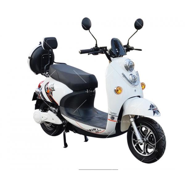Електрически скутер тип Ретро стил с висока мощност от 1200W - MOTOR8 19