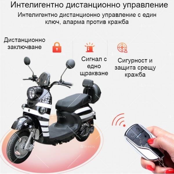 Електрически скутер тип Ретро стил с висока мощност от 1200W - MOTOR8 23
