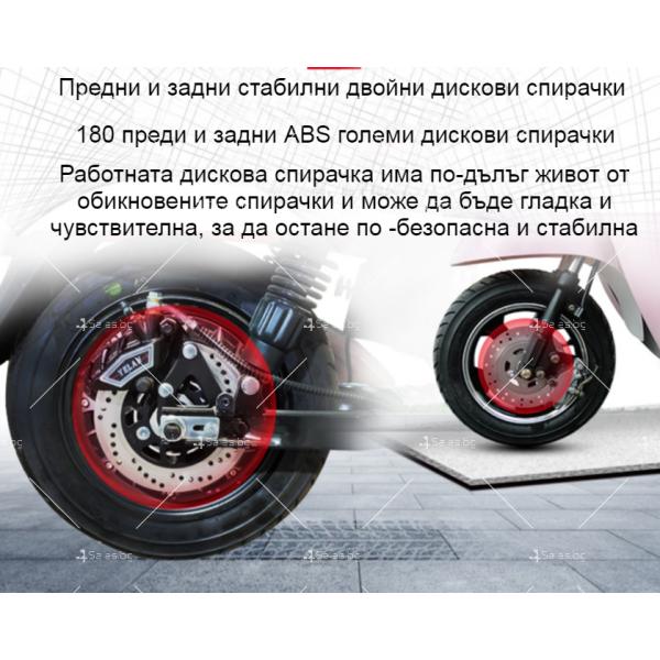 Електрически скутер тип Ретро стил с висока мощност от 1200W - MOTOR8 28