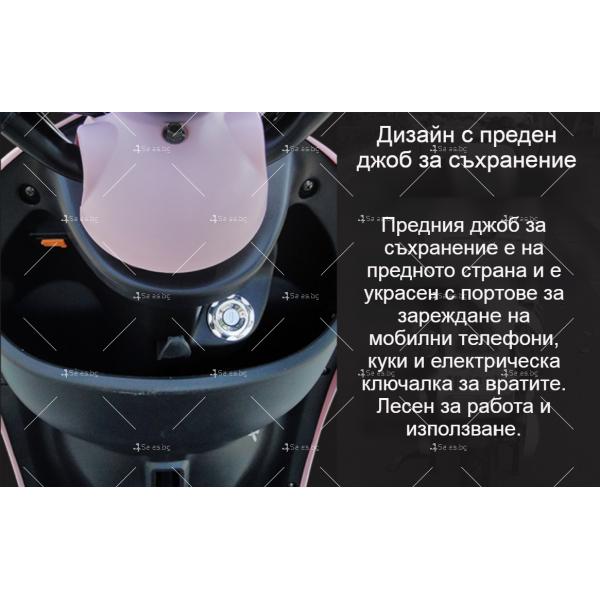 Електрически скутер тип Ретро стил с висока мощност от 1200W - MOTOR8 33
