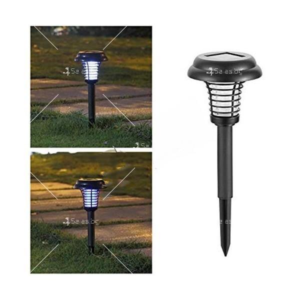 Соларна градинска лампа 5