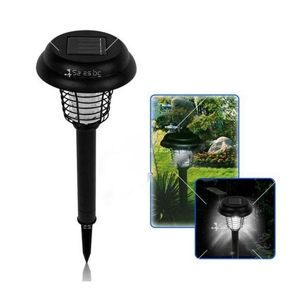 Соларна градинска лампа 6