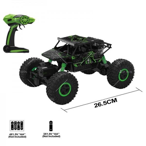 Офроуд бъги джип играчка с дистанционно управление TOY CAR-1 2