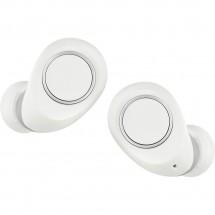 Bluetooth слушалки със зарядна кутия във формата на овал