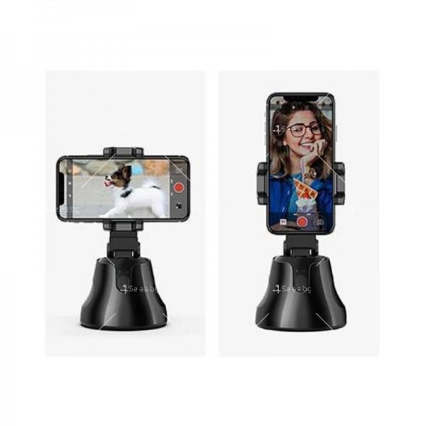 Портативна селфи стойка 360 градусова стойка за камера – робот 1