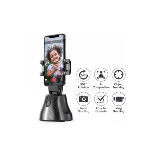 Портативна селфи стойка 360 градусова стойка за камера – робот 10