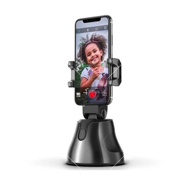 Портативна селфи стойка 360 градусова стойка за камера – робот 11