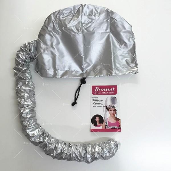 Шапка с тръба за горещо въздух за изсушаване на коса и правене на прическа TV589 2