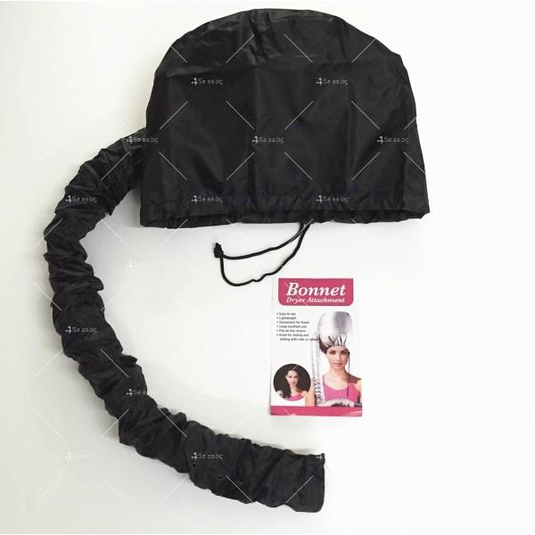 Шапка с тръба за горещо въздух за изсушаване на коса и правене на прическа TV589 3