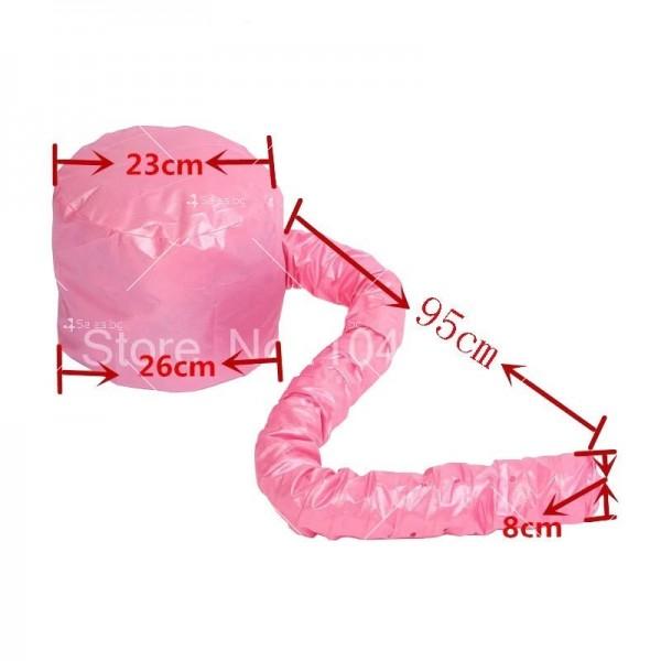 Шапка с тръба за горещо въздух за изсушаване на коса и правене на прическа TV589 4