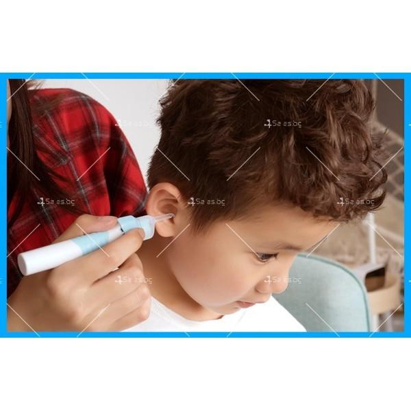 Електрическо почистващо устройство за уши с LED светлина TV595 3
