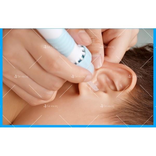 Електрическо почистващо устройство за уши с LED светлина TV595 10
