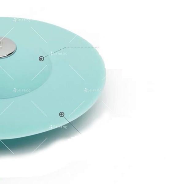 Запушалка за сифона на мивка с кръгъл отвор изработени от ТПЕ - TV599 5