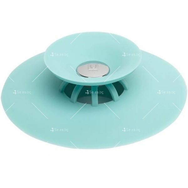Запушалка за сифона на мивка с кръгъл отвор изработени от ТПЕ - TV599