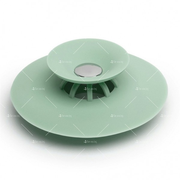 Запушалка за сифона на мивка с кръгъл отвор изработени от ТПЕ - TV599 8