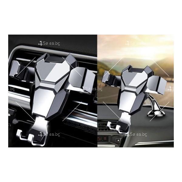 Стойка за мобилни устройства за автомобил с щипка ST6