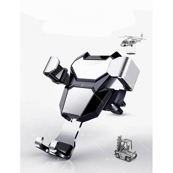 Стойка за мобилни устройства за автомобил с щипка ST6 7