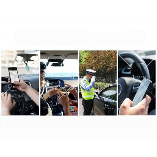 Стойка за мобилни устройства за автомобил с щипка ST6 8