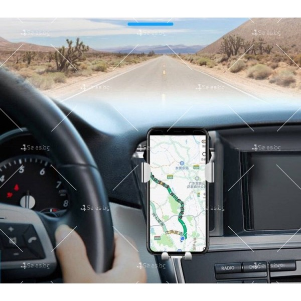 Стойка за мобилни устройства за автомобил с щипка ST6 9