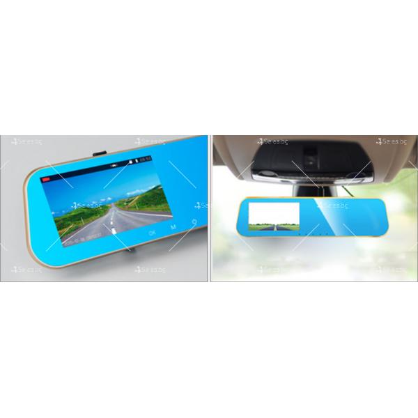Видеорегистратор огледало за задно виждане батерия 300mAh и камера -5Mpx AC1 6