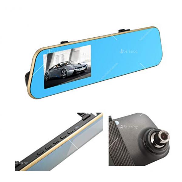Видеорегистратор огледало за задно виждане батерия 300mAh и камера -5Mpx AC1 7