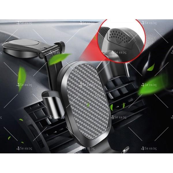 Стойка за GPS и мобилни устройства с възможност за 2 различни закрепвания ST19 2
