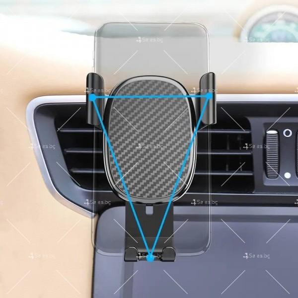 Стойка за GPS и мобилни устройства с възможност за 2 различни закрепвания ST19 10